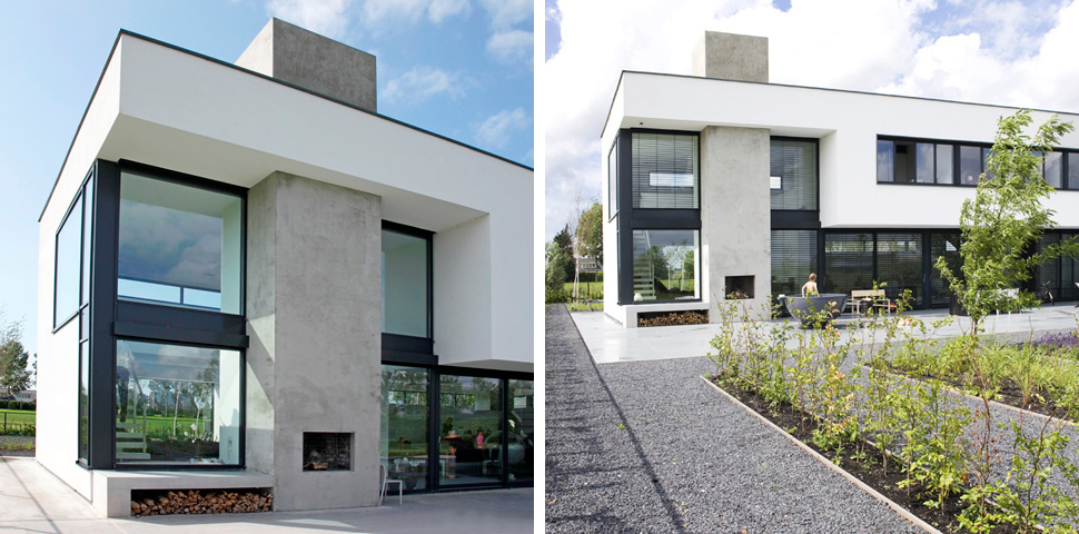 Moderne villa zwaanshoek archstudio architecten for Villa moderne 2016