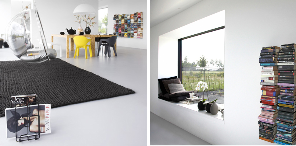 minimalistisch interieur villa zwaanshoek archstudio architecten. Black Bedroom Furniture Sets. Home Design Ideas