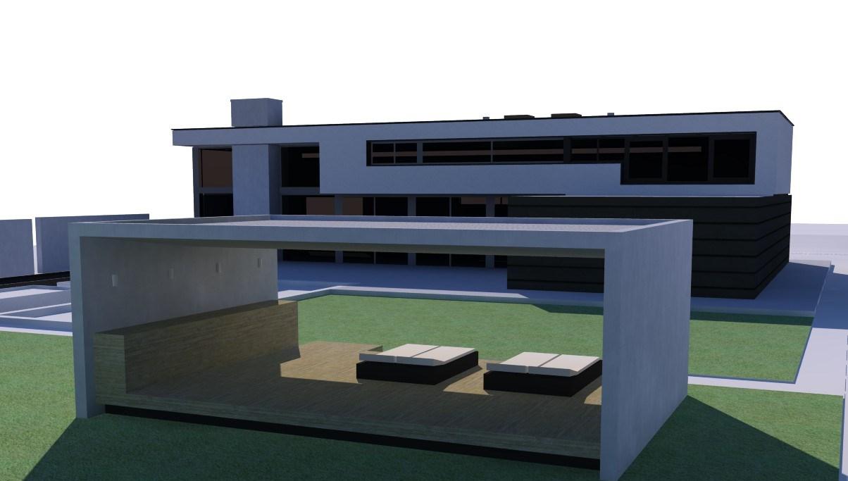Moderne buitenkeuken archstudio architecten - Ontwerp tuinhuis ...