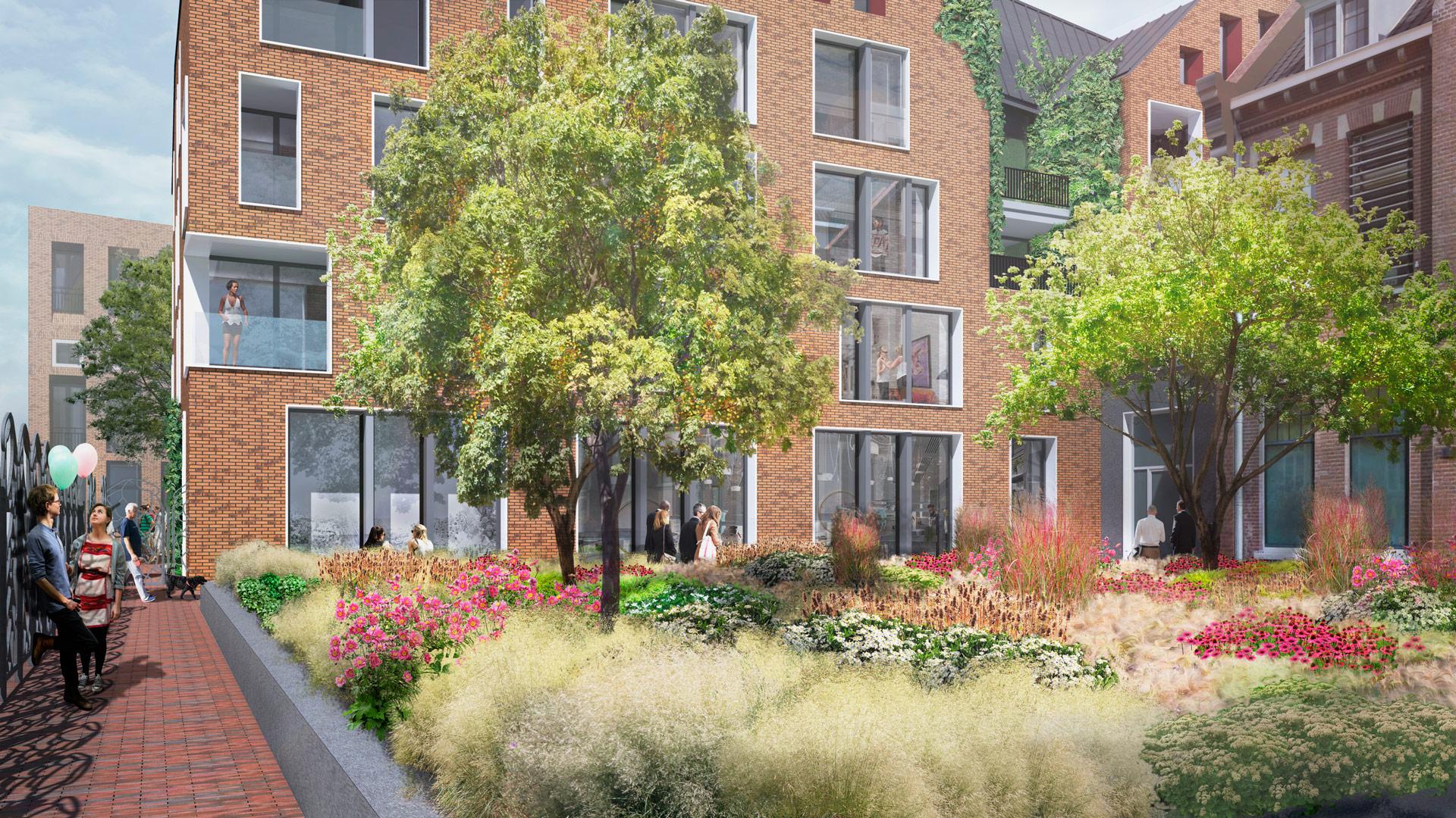nieuwbouw appartementen raaks haarlem jopenkerk